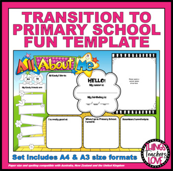 TRANSITION TO PRIMARY SCHOOL STATEMENT - To be completed by kids - A4 PDF