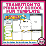 TRANSITION TO PRIMARY SCHOOL STATEMENT - To be completed b