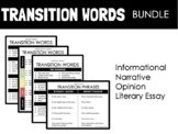 TRANSITION WORDS ANCHOR CHART BUNDLE