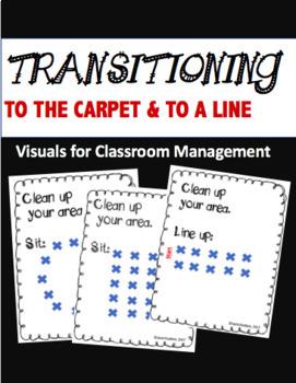 TRANSITION VISUALS- CLASSROOM MANAGEMENT BUNDLE
