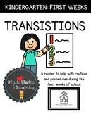 TRANSITIONS: FIRST WEEKS OF KINDERGARTEN