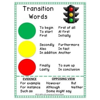 TRANSITIONS FREEBIE