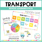 TRANSPORT - Remote learning pack