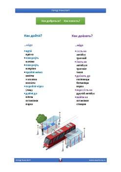 TRANSPORT - Russian Vocabulary