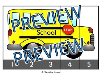 COUNTING ACTIVITIES: TRANSPORTATION COUNTING PUZZLES: COUNTING CENTER