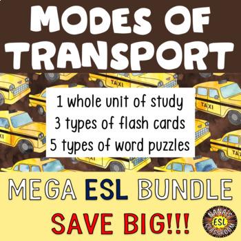 TRANSPORTATION (ESL) BUNDLE