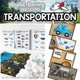 TRANSPORTATION Playful Learning Invitations