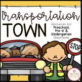 TRANSPORTATION THEME ACTIVITIES FOR PRESCHOOL, PRE-K AND KINDERGARTEN