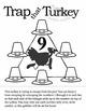 Addition, Subtraction, Problem Solving Thanksgiving Puzzle