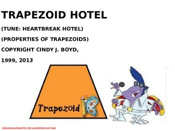 TRAPEZOID HOTEL SONG