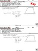 TRAPEZOIDS: Properties  (Geometry Curriculum in 5 min tasks - Unit 17)
