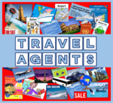 TRAVEL AGENTS ROLE PLAY RESOURCES DISPLAY KS 1-2 GEOGRAPHY HOLIDAYS