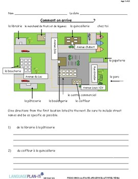 TRAVEL AND SERVICES ACTIVITIES, VERBS (FRENCH)