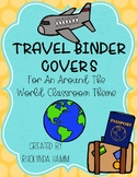 TRAVEL Binder Covers EDITABLE