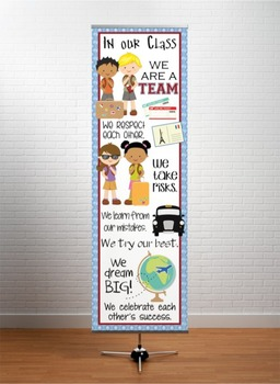 TRAVEL - Classroom Decor: X-LARGE BANNER, In Our Class...