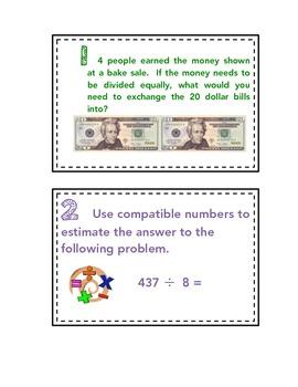5.NBT.6 - Travel Math - Dividing 1 - Digit Divisors