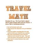 5.NBT.7 - TRAVEL MATH - Multiplying Decimals