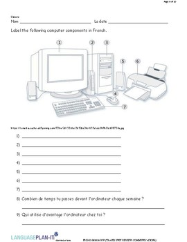 TRAVEL UNIT REVIEW, COMMUNICATIONS (FRENCH)