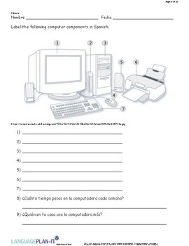 TRAVEL UNIT REVIEW, COMMUNICATIONS (SPANISH)