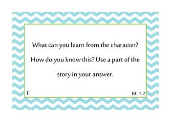 TRC Question Stems Level F