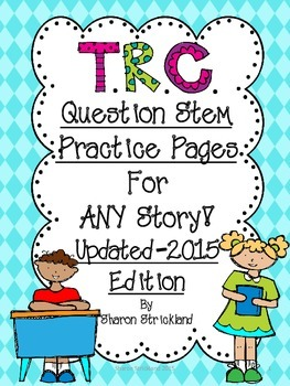 mClass 3D Reading TRC Question Stems Printable Pages 2nd Edition