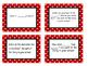 Written comprehension stem task cards