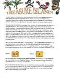 TREASURE ISLAND ACTIVITY with System of Equations (substit