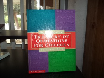 TREASURY OF QUOTATIONS FOR CHILDREN