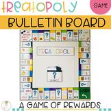 TREATOPOLY Game Bulletin Board