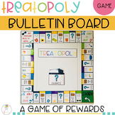 TREATOPOLY Behavior Management Chart and Bulletin Board Rewards Cards
