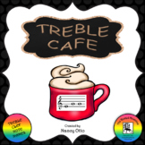 Treble Cafe: A Yummy Activity to Review Notes on the Treble Clef Staff