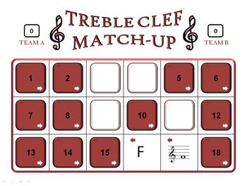 Treble Clef Match-Up