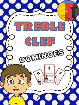 TREBLE CLEF NOTE - DOMINOES