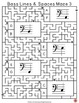 Music Games: Bass Pitch Music Theory Maze Puzzles SAVINGS BUNDLE