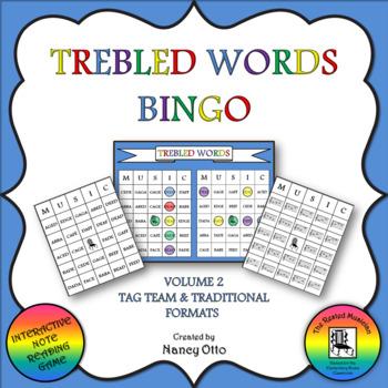 Trebled Words Bingo - Volume 2