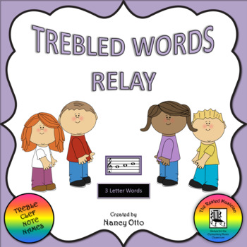 Trebled Words Relay - 3 Letter Words