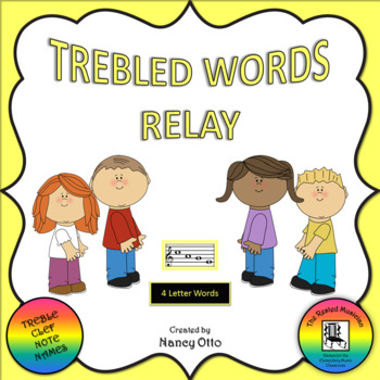Trebled Words Relay - 4 Letter Words