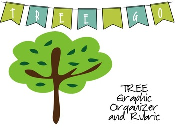 TREE Graphic Organizer and Rubric for Opinion Writing