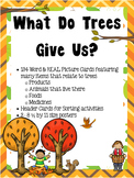 TREE Products - Real Picture & Word Cards