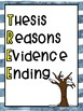 TREE Writing Acronym Anchor Chart
