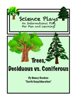 Trees: A Fun, Informational and Interactive Play! Deciduous Vs. Coniferous Trees