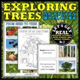 LEAVES AND TREES ACTIVITY PACK (The Forest Biome)