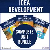 Nonfiction Inferences (Idea Development) Unit BUNDLE