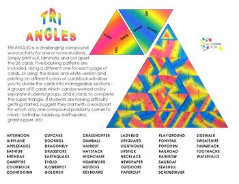 TRI-ANGLES: A compound word challenge