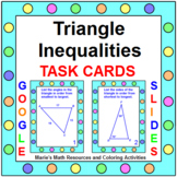 TRIANGLE INEQUALITIES THEOREM TASK CARDS: