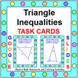 TRIANGLE INEQUALITIES THEOREM TASK CARDS: