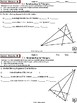 TRIANGLE PROPERTIES: HS Geometry Curriculum Daily Assessments Unit 10)