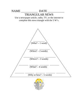 TRIANGULAR NEWS
