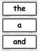 TRICK WORDS Level 1 WORD WALL CARDS