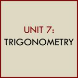 UNIT 7: TRIGONOMETRY POWERPOINT